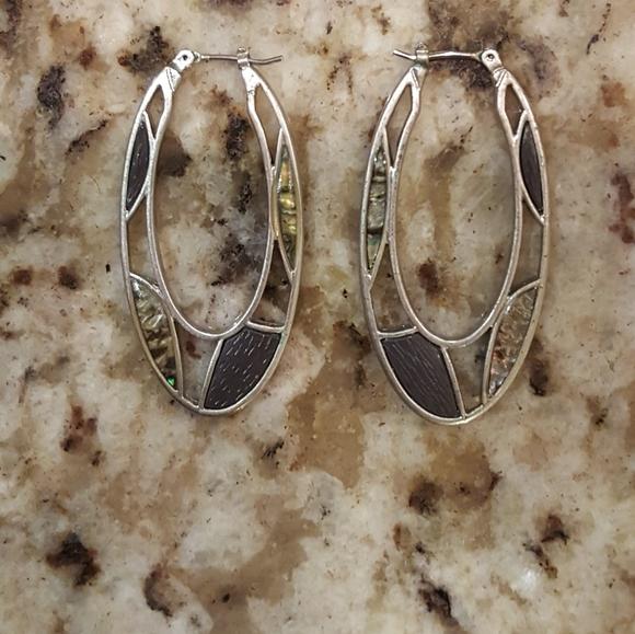 Lia Sophia Jewelry - Lia Sophia Scribble Silver Tone Earrings